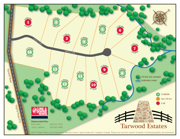 Tarwood Estates Sitemap